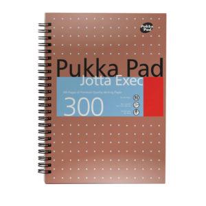 PUKKA JOTTA EXEC A4 300 PGS COPPER