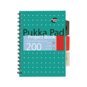 PUKKA METALLIC PROJECT BOOK A5 PK3