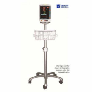 Mobile Stand with Basket for PC-900 & PC-3000 Monitor