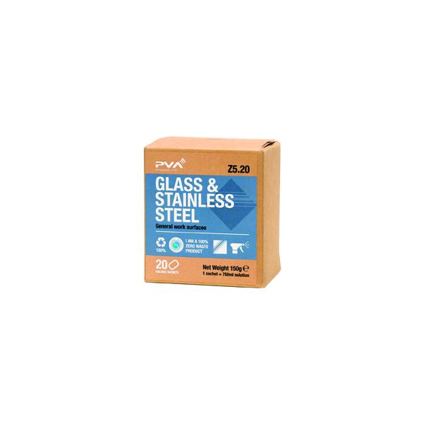 PVA GLASS/STAINLESS STEEL SCHT PK20