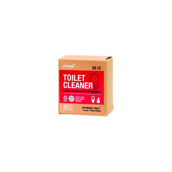 PVA TOILET CLEANER SACHETS 1L PK12