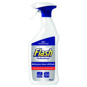FLASH PRO CLEANER WITH BLEACH 750ML