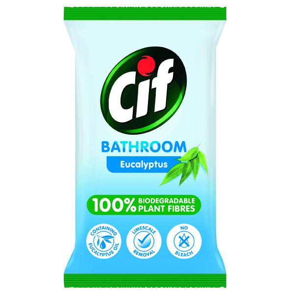CIF BIO BATH WIPES 80 SHEETS PK6