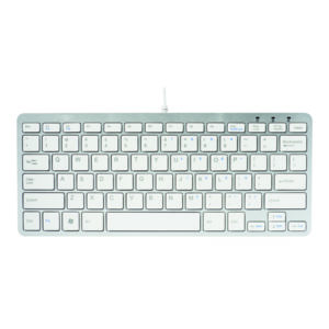 RGO COMPACT KEYBOARD WIRED WHITE