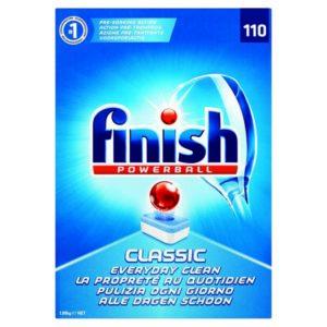 FINISH CLASSIC DISHWSR CLNR TBLTS PK110