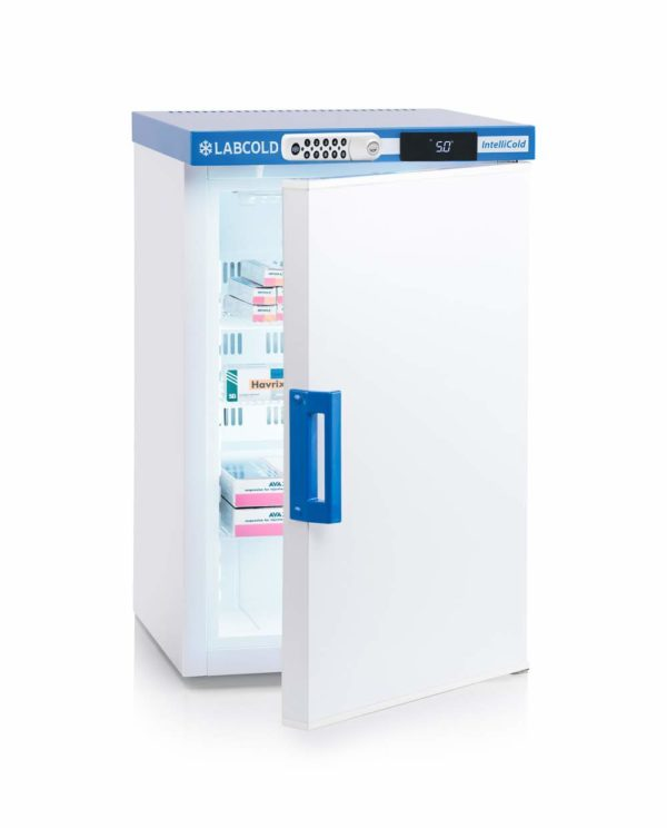 Labcold 66L Solid Door Bench TopPharmacy Refrigerator-RLDF0219 with Digital Lock