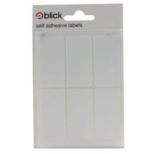 BLICK LABEL BAG 25X50 WHT PK42 001959
