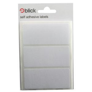 BLICK LABEL BAG 34X75 WHT PK20 003755