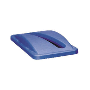 NEWELL SLIM JIM BIN LID PAPER BLUE