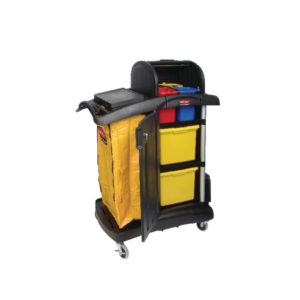 RUBBERMAID MF CART WITH HOOD ASSEMBLED