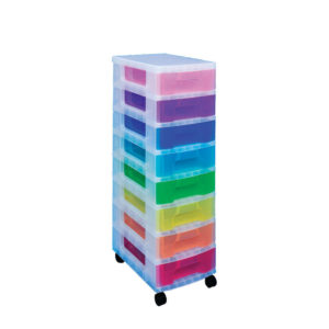 REALLY USEFULL TOWER 8X7 DRAWERS  M/COL