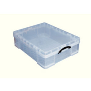 REALUSE 70 LTR REALLY USEFUL BX CLR PK1