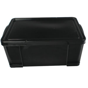 REALLY USEFUL 64 LITRE RECYCLED BOX BLK