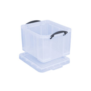 REALLY USEFUL EURO BOX CLEAR 35LT 35C