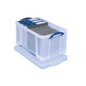REALLY USEFUL 48 LITRE BOX CLEAR 48C