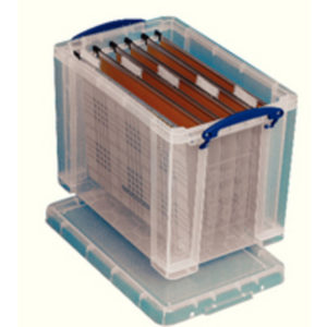 REALUSE 24LTR BOX FC SUSPNSN FILES CLEAR