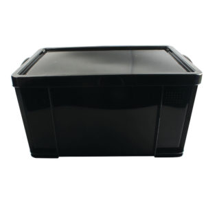 REALLY USEFUL 84 LITRE RECYCLED BOX BLK