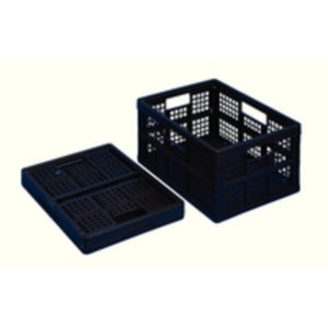 REALLY USEFUL 32LTR FOLD/CRATE BLK PK3