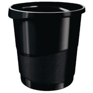 REXEL WASTE BIN CHOICES BLACK