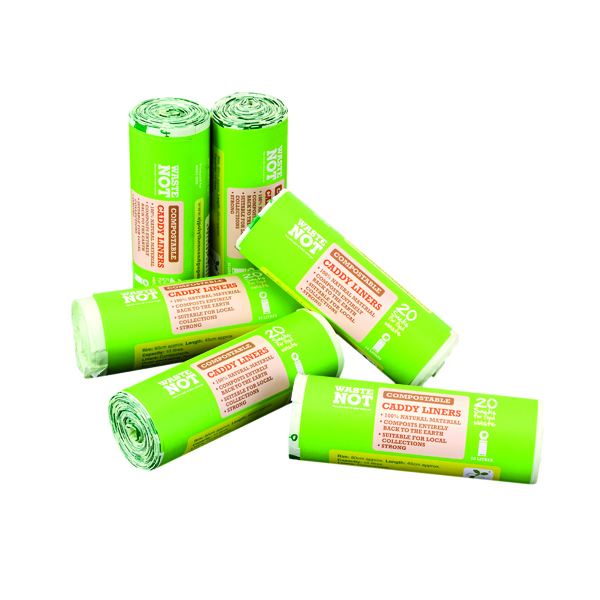 WASTENOT COMPOSTABLE CADDY BAG P120
