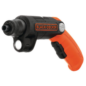 BLACK AND DECKER SCREWDRIVER WITH FLASH