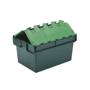 64L GREEN CONTAINER  LID 306598