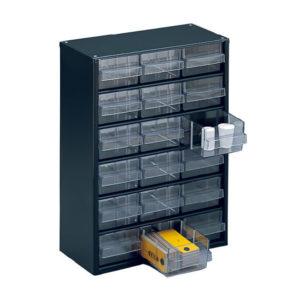 18 CLEAR DRAWER STORAGE SYSTEM 324124117
