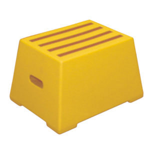 PLASTIC SAFETY 1 STEP YELLOW 325094094