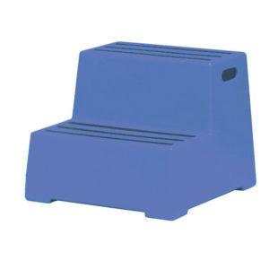 PLASTIC SAFETY 2 STEP BLUE 325095  5