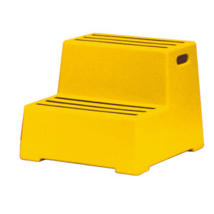 PLASTIC SAFETY 2 STEP YELLOW 325097097