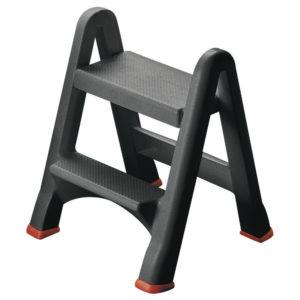 FOLDING PLASTIC STEP STOOL 333650  0