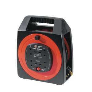 20M 13AMP 4 SOCKET CABLE REEL 377107109