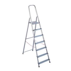 8 STEP ALUMINIUM STEPLADDER 4050101