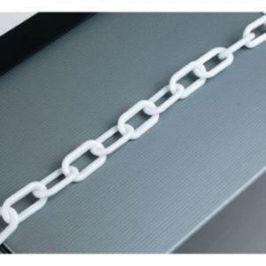 25M 8MM THCK PLASTIC CHAIN WHT 360060077