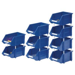 BLUE CONTRACT BINS PK12 360235