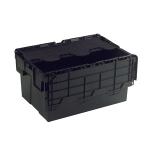 ATTACHED LIDDED BOX BLACK 375814
