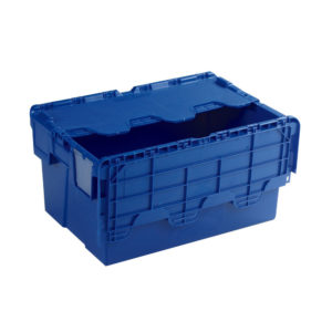 ATTACHED LIDDED BOX BLUE 375815