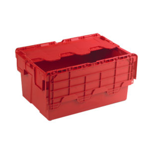 ATTACHED LIDDED BOX RED 387995
