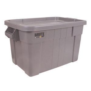 BRUTE TOTE BOX/LID 75L GREY 382216 16