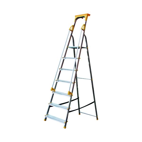 ALUMINIUM SAFETY PFORM STEPS 7TREAD