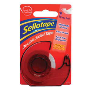 SELLOTAPE DOUBLESIDED TAPE/DISP 15MMX5M