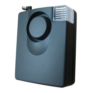 ELECTRONIC ALARM WITH TEST PASC