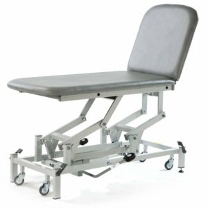 Medicare 2 Section Couch - Hydraulic Lift|Manual Back Rest
