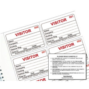 VISITORS BOOK REFILL IBRSYS
