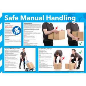 POSTER 420X590 SAFE MANUAL HANDLING