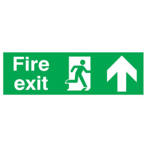 SIGN 150X450 FIRE EXT R/M ARROW UP PVC