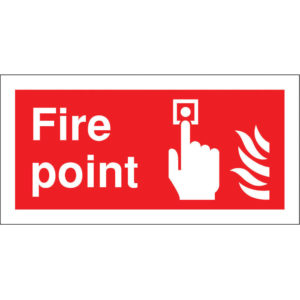 SIGN 100X200 FIRE POINT S/A