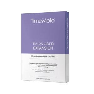 SAFESCAN TIMEMOTO TM-UEP EXP PK 25 USERS