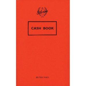 SILVINE CASH BOOK 159X95MM PK24