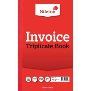 SILVINE TRIPLICATE BOOK 8.25X5 INV 619